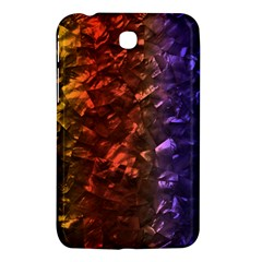 Multi Color Magical Unicorn Rainbow Shimmering Mother of Pearl Samsung Galaxy Tab 3 (7 ) P3200 Hardshell Case