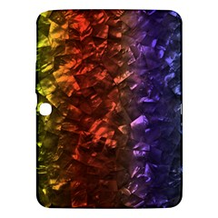 Multi Color Magical Unicorn Rainbow Shimmering Mother Of Pearl Samsung Galaxy Tab 3 (10 1 ) P5200 Hardshell Case