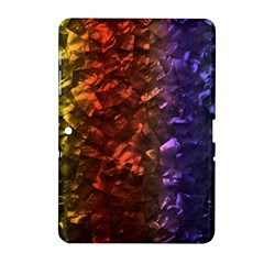 Multi Color Magical Unicorn Rainbow Shimmering Mother of Pearl Samsung Galaxy Tab 2 (10.1 ) P5100 Hardshell Case