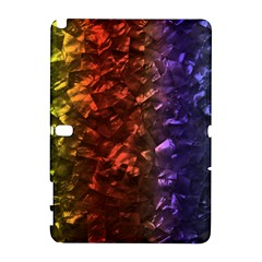 Multi Color Magical Unicorn Rainbow Shimmering Mother of Pearl Galaxy Note 1