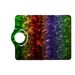 Multi Color Magical Unicorn Rainbow Shimmering Mother of Pearl Kindle Fire HD (2013) Flip 360 Case