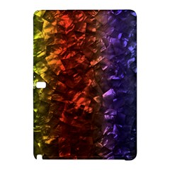 Multi Color Magical Unicorn Rainbow Shimmering Mother of Pearl Samsung Galaxy Tab Pro 10.1 Hardshell Case