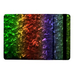 Multi Color Magical Unicorn Rainbow Shimmering Mother of Pearl Samsung Galaxy Tab Pro 10.1  Flip Case