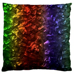 Multi Color Magical Unicorn Rainbow Shimmering Mother of Pearl Standard Flano Cushion Case (One Side)