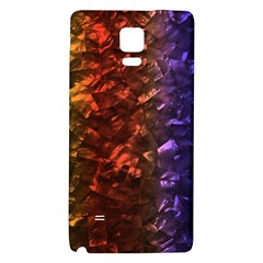 Multi Color Magical Unicorn Rainbow Shimmering Mother of Pearl Galaxy Note 4 Back Case