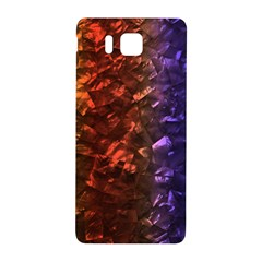 Multi Color Magical Unicorn Rainbow Shimmering Mother of Pearl Samsung Galaxy Alpha Hardshell Back Case