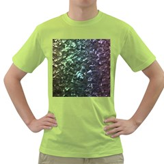 Natural Shimmering Mother of Pearl Nacre  Green T-Shirt