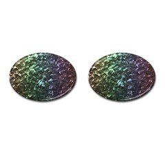 Natural Shimmering Mother of Pearl Nacre  Cufflinks (Oval)