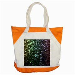 Natural Shimmering Mother of Pearl Nacre  Accent Tote Bag