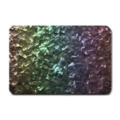 Natural Shimmering Mother of Pearl Nacre  Small Doormat