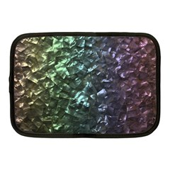 Natural Shimmering Mother of Pearl Nacre  Netbook Case (Medium)