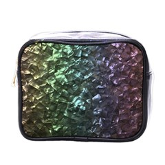 Natural Shimmering Mother of Pearl Nacre  Mini Toiletries Bags