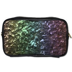 Natural Shimmering Mother of Pearl Nacre  Toiletries Bags 2-Side