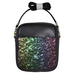 Natural Shimmering Mother of Pearl Nacre  Girls Sling Bags