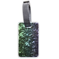 Natural Shimmering Mother of Pearl Nacre  Luggage Tags (One Side)