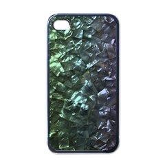 Natural Shimmering Mother of Pearl Nacre  Apple iPhone 4 Case (Black)