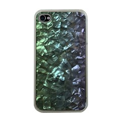Natural Shimmering Mother of Pearl Nacre  Apple iPhone 4 Case (Clear)