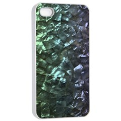 Natural Shimmering Mother of Pearl Nacre  Apple iPhone 4/4s Seamless Case (White)