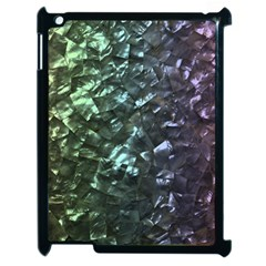 Natural Shimmering Mother of Pearl Nacre  Apple iPad 2 Case (Black)