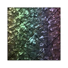 Natural Shimmering Mother of Pearl Nacre  Acrylic Tangram Puzzle (6  x 6 )