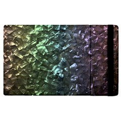 Natural Shimmering Mother of Pearl Nacre  Apple iPad 3/4 Flip Case