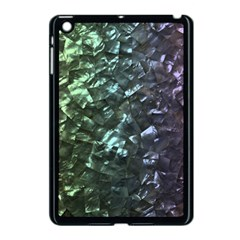 Natural Shimmering Mother of Pearl Nacre  Apple iPad Mini Case (Black)