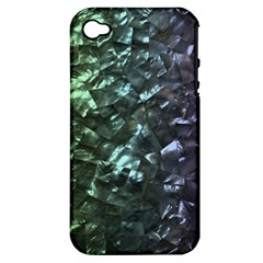 Natural Shimmering Mother of Pearl Nacre  Apple iPhone 4/4S Hardshell Case (PC+Silicone)