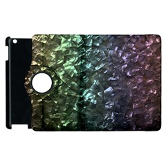 Natural Shimmering Mother of Pearl Nacre  Apple iPad 3/4 Flip 360 Case