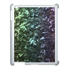 Natural Shimmering Mother of Pearl Nacre  Apple iPad 3/4 Case (White)