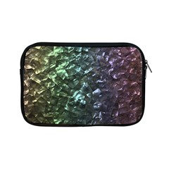 Natural Shimmering Mother of Pearl Nacre  Apple iPad Mini Zipper Cases