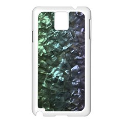 Natural Shimmering Mother of Pearl Nacre  Samsung Galaxy Note 3 N9005 Case (White)