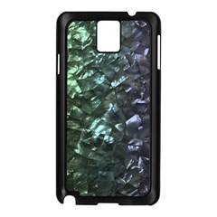 Natural Shimmering Mother of Pearl Nacre  Samsung Galaxy Note 3 N9005 Case (Black)