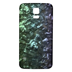 Natural Shimmering Mother of Pearl Nacre  Samsung Galaxy S5 Back Case (White)