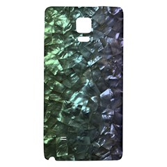 Natural Shimmering Mother of Pearl Nacre  Galaxy Note 4 Back Case