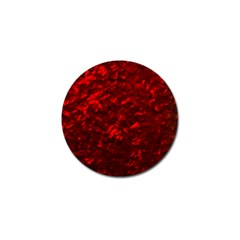 Hawaiian Red Hot Lava Mother of Pearl Nacre  Golf Ball Marker (10 pack)