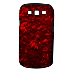 Hawaiian Red Hot Lava Mother of Pearl Nacre  Samsung Galaxy S III Classic Hardshell Case (PC+Silicone)