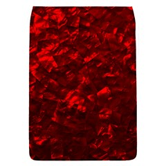 Hawaiian Red Hot Lava Mother of Pearl Nacre  Flap Covers (S)