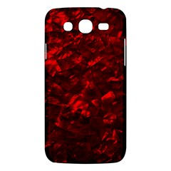 Hawaiian Red Hot Lava Mother of Pearl Nacre  Samsung Galaxy Mega 5.8 I9152 Hardshell Case