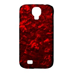 Hawaiian Red Hot Lava Mother of Pearl Nacre  Samsung Galaxy S4 Classic Hardshell Case (PC+Silicone)