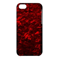 Hawaiian Red Hot Lava Mother of Pearl Nacre  Apple iPhone 5C Hardshell Case