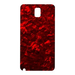 Hawaiian Red Hot Lava Mother of Pearl Nacre  Samsung Galaxy Note 3 N9005 Hardshell Back Case