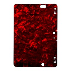 Hawaiian Red Hot Lava Mother of Pearl Nacre  Kindle Fire HDX 8.9  Hardshell Case