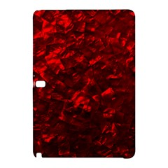 Hawaiian Red Hot Lava Mother of Pearl Nacre  Samsung Galaxy Tab Pro 10.1 Hardshell Case