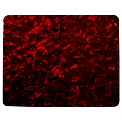 Hawaiian Red Hot Lava Mother of Pearl Nacre  Jigsaw Puzzle Photo Stand (Rectangular)