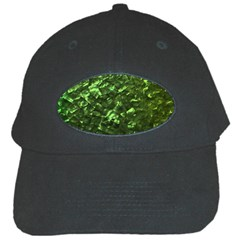 Bright Jade Green Jewelry Mother of Pearl Black Cap