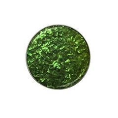 Bright Jade Green Jewelry Mother of Pearl Hat Clip Ball Marker