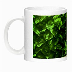 Bright Jade Green Jewelry Mother of Pearl Night Luminous Mugs