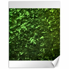 Bright Jade Green Jewelry Mother of Pearl Canvas 12  x 16