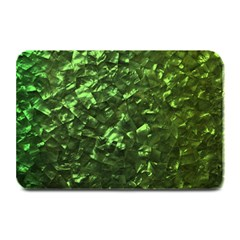 Bright Jade Green Jewelry Mother of Pearl Plate Mats
