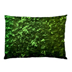 Bright Jade Green Jewelry Mother of Pearl Pillow Case